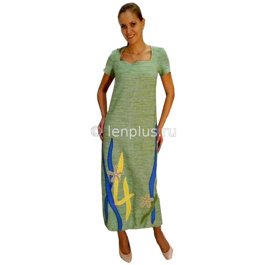 Модели платьев изо льна