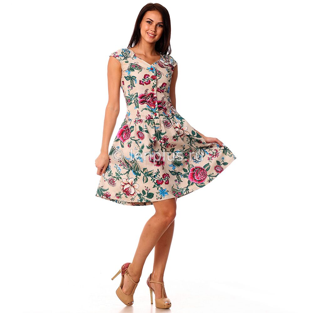 Летнее платье модель
